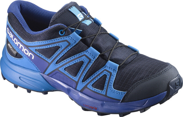 Salomon Speedcross CS WP Trailrunning Shoes Kinder Navy
